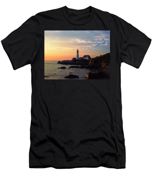 Peaceful Mornings Men's T-Shirt (Athletic Fit)