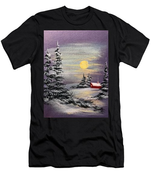 Peaceful Night Men's T-Shirt (Athletic Fit)