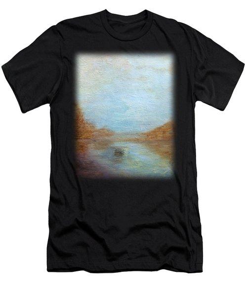 Peaceful Pond Men's T-Shirt (Athletic Fit)