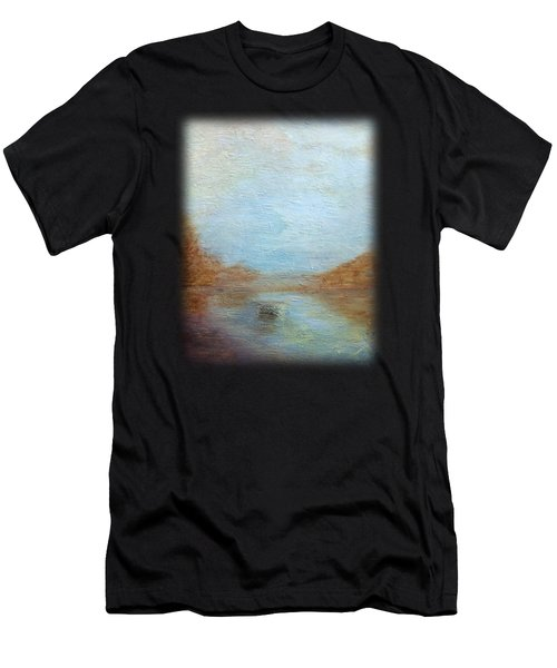 Peaceful Pond Men's T-Shirt (Athletic Fit)
