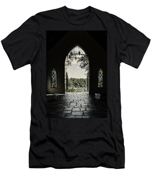 Peaceful Resting  Men's T-Shirt (Athletic Fit)