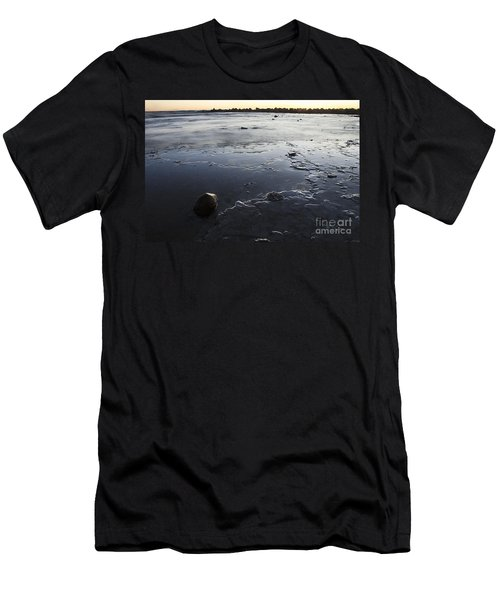 Peaceful Shoreline Shallows Men's T-Shirt (Athletic Fit)