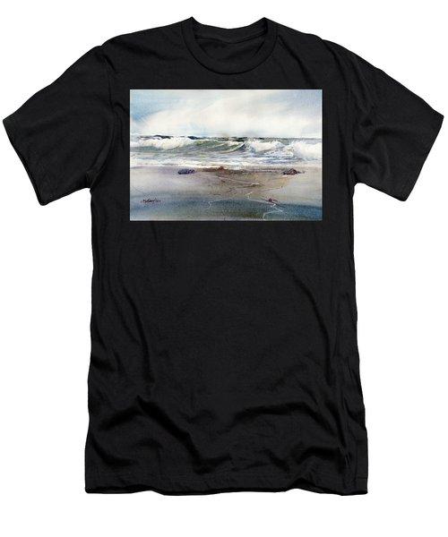Peaceful Surf Men's T-Shirt (Athletic Fit)
