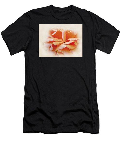 Peach Delight Men's T-Shirt (Athletic Fit)