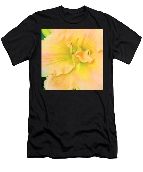 Peach Lily Men's T-Shirt (Athletic Fit)