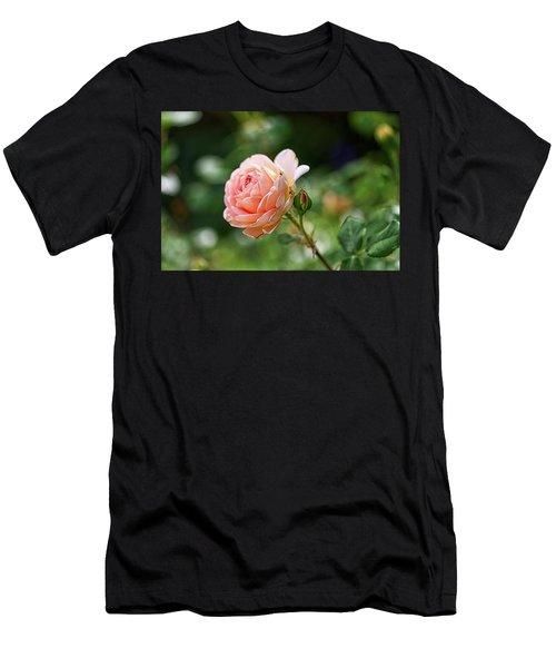 Peach Petals Men's T-Shirt (Athletic Fit)
