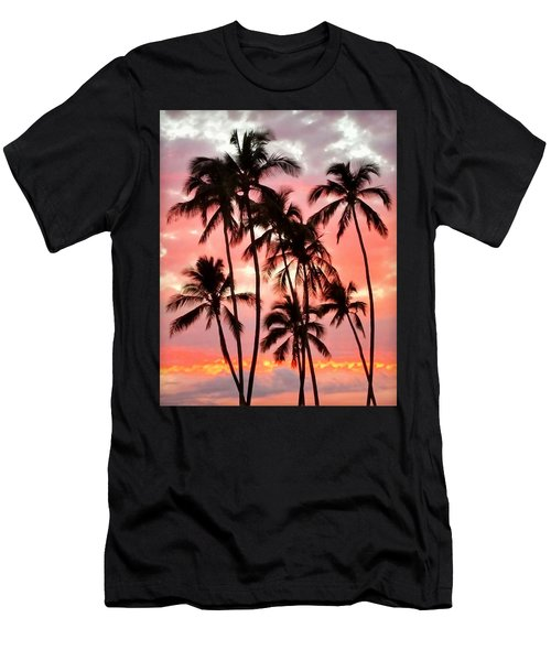 Peachy Palms Men's T-Shirt (Athletic Fit)
