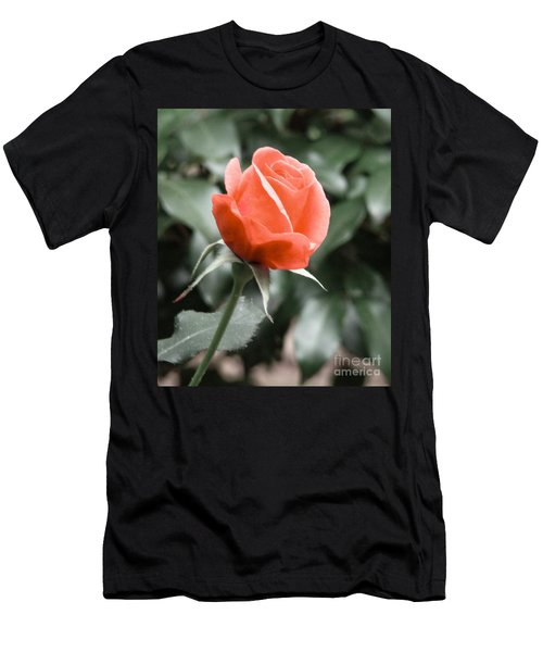 Peachy Rose Men's T-Shirt (Athletic Fit)