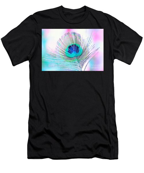 Peacock Pride Men's T-Shirt (Athletic Fit)