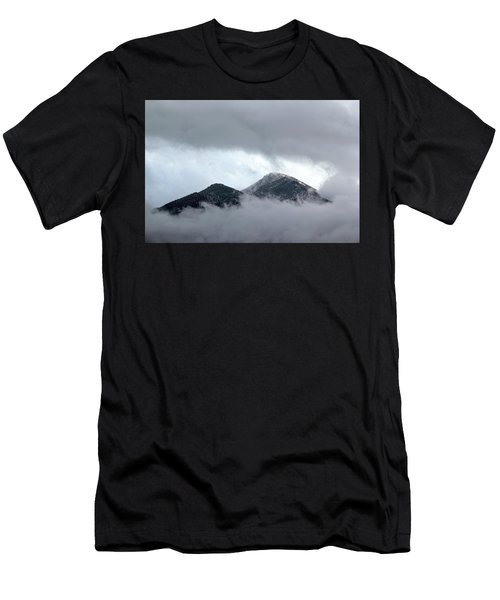 Peaking Through The Clouds Men's T-Shirt (Athletic Fit)