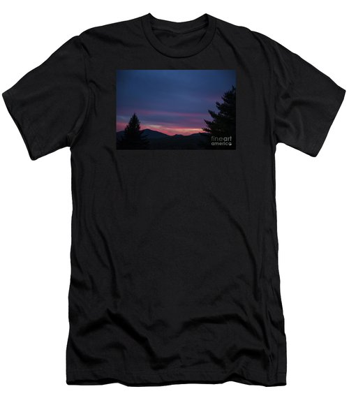 Men's T-Shirt (Slim Fit) featuring the photograph Peaks by Alana Ranney