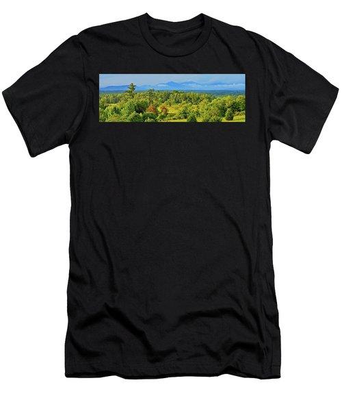 Peaks Of Otter Rainstorm Men's T-Shirt (Athletic Fit)