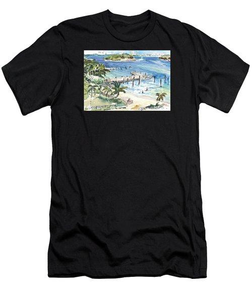 Peanut Island Men's T-Shirt (Athletic Fit)