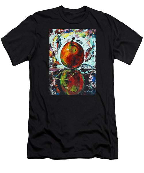 Pear And Reflection Men's T-Shirt (Athletic Fit)