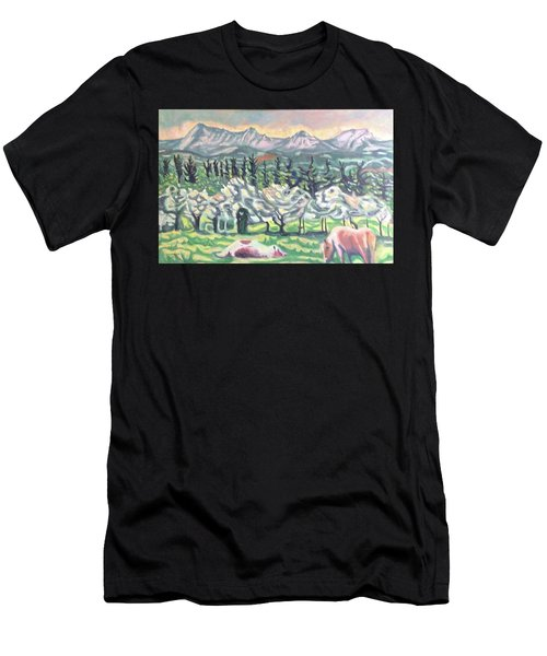 Pear Trees Men's T-Shirt (Athletic Fit)