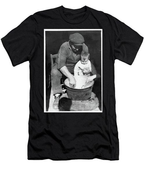 Peasant Life Men's T-Shirt (Athletic Fit)