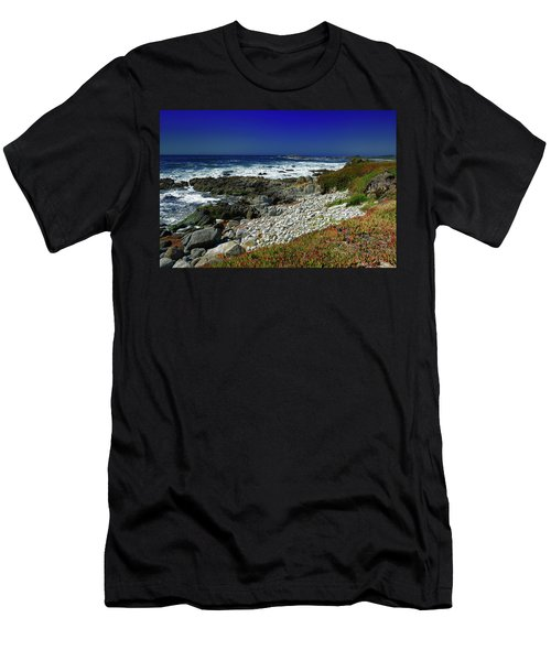 Pebble Beach Men's T-Shirt (Slim Fit)