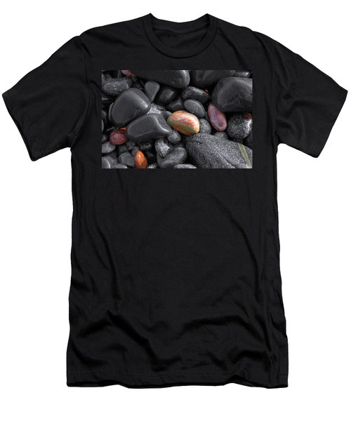 Pebble Jewels   Men's T-Shirt (Athletic Fit)