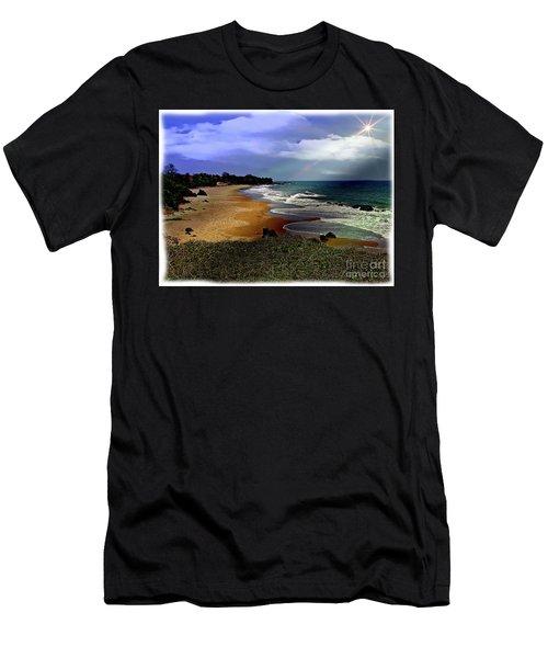 Pedasi Beach, In The Dry Arc Of Panama Men's T-Shirt (Athletic Fit)
