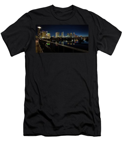 Pedestrian Bridge View Men's T-Shirt (Athletic Fit)