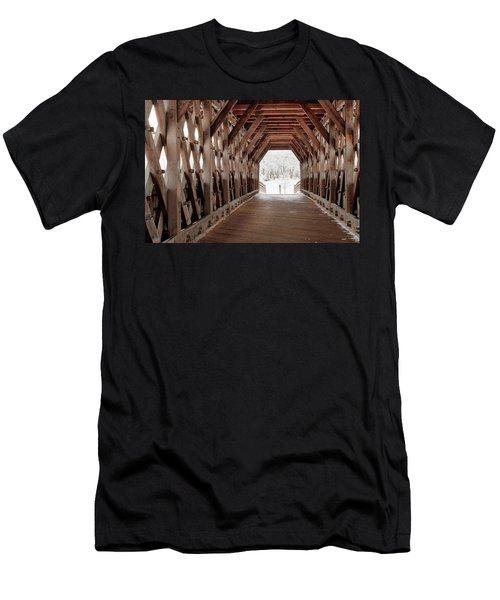 Pedestrian Lattice Bridge Men's T-Shirt (Athletic Fit)
