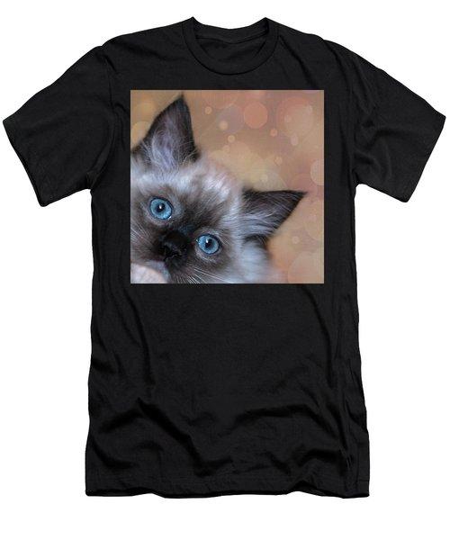 Peek-a-boo 2 Men's T-Shirt (Athletic Fit)