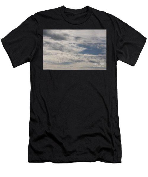 Peeking Sky Men's T-Shirt (Athletic Fit)