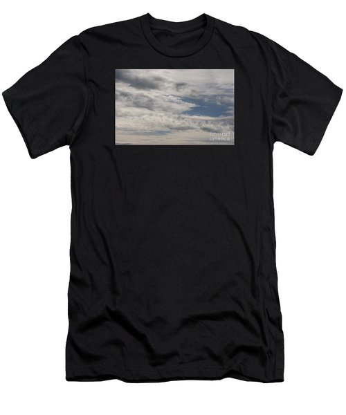Peeking Sky Men's T-Shirt (Athletic Fit)