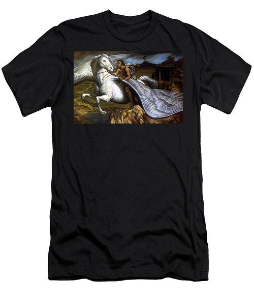Pegasus Men's T-Shirt (Athletic Fit)