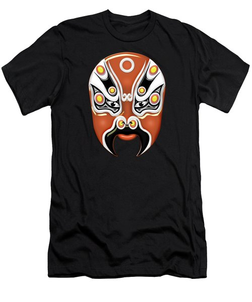 Peking Opera Face-paint Masks - Hou Yi Men's T-Shirt (Athletic Fit)