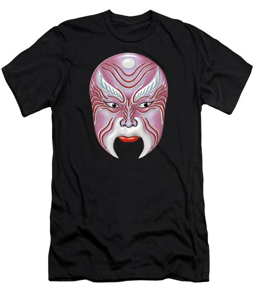 Peking Opera Face-paint Masks - Jiang Shang Men's T-Shirt (Athletic Fit)