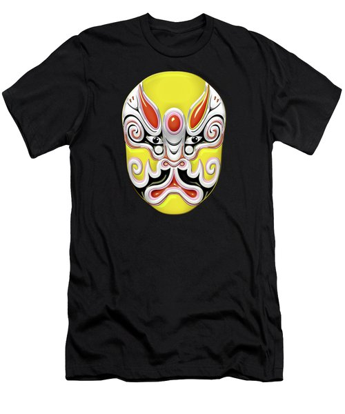 Peking Opera Face-paint Masks - Tuxing Sun Men's T-Shirt (Athletic Fit)