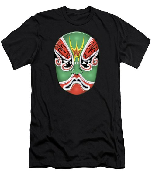 Peking Opera Face-paint Masks - Zheng Lun Men's T-Shirt (Athletic Fit)
