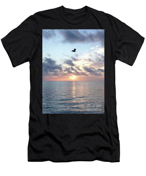 Pelican Dawn Men's T-Shirt (Athletic Fit)
