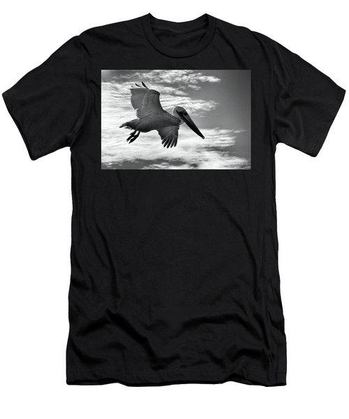 Pelican In Flight Men's T-Shirt (Athletic Fit)