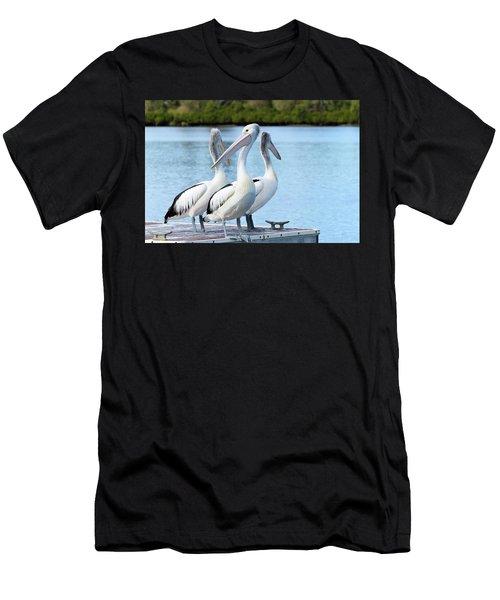 Pelicans 6663. Men's T-Shirt (Athletic Fit)