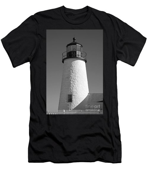 Pemaquid Point Lighthouse IIi Men's T-Shirt (Athletic Fit)