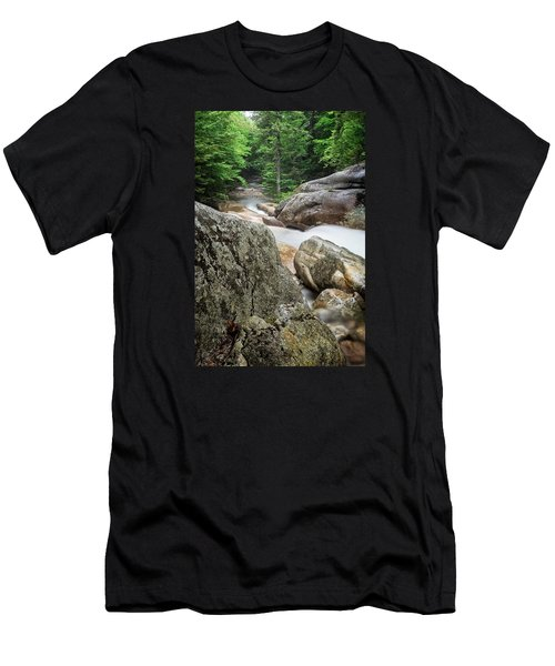 Pemi Above Basin Men's T-Shirt (Slim Fit) by Michael Hubley