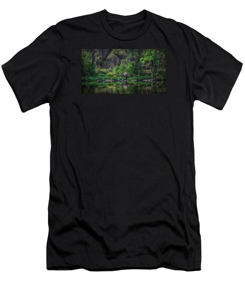 Pena Blanca Lake, Az Men's T-Shirt (Athletic Fit)