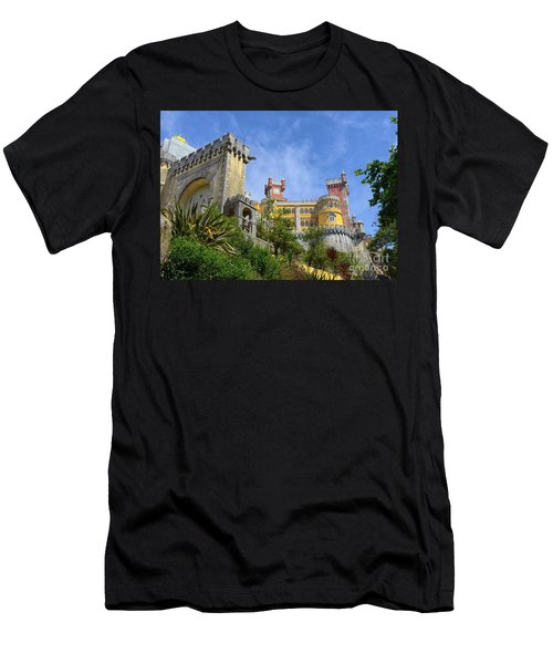 Pena National Palace, Portugal Men's T-Shirt (Athletic Fit)