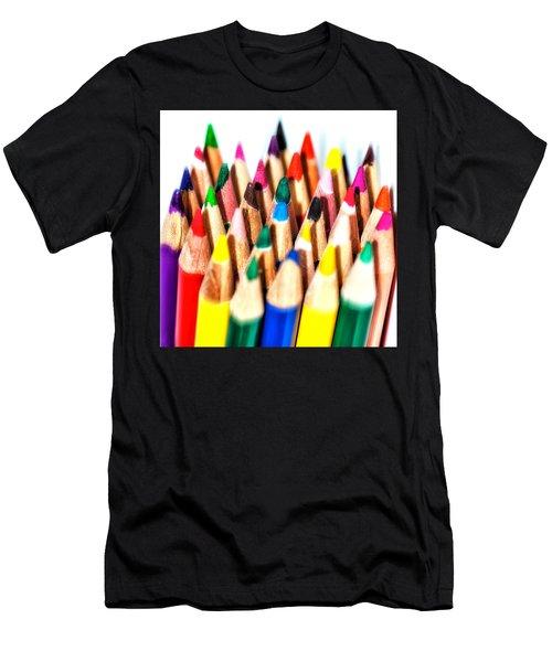 Pencils Men's T-Shirt (Athletic Fit)