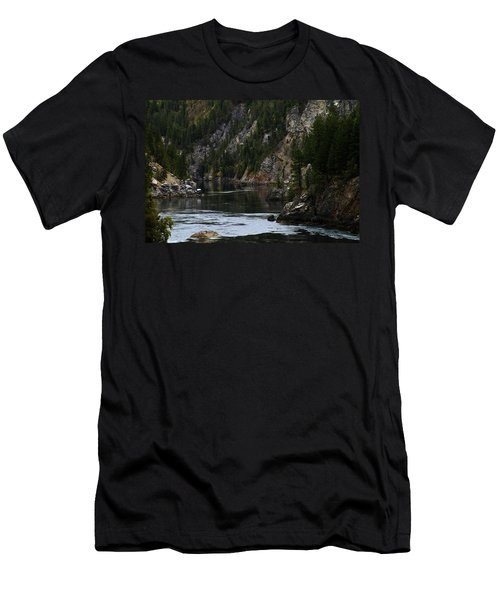 Pend Oreille In Oil II Men's T-Shirt (Athletic Fit)