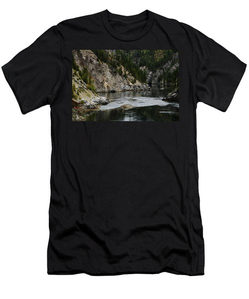 Pend Oreille In Oil Men's T-Shirt (Athletic Fit)