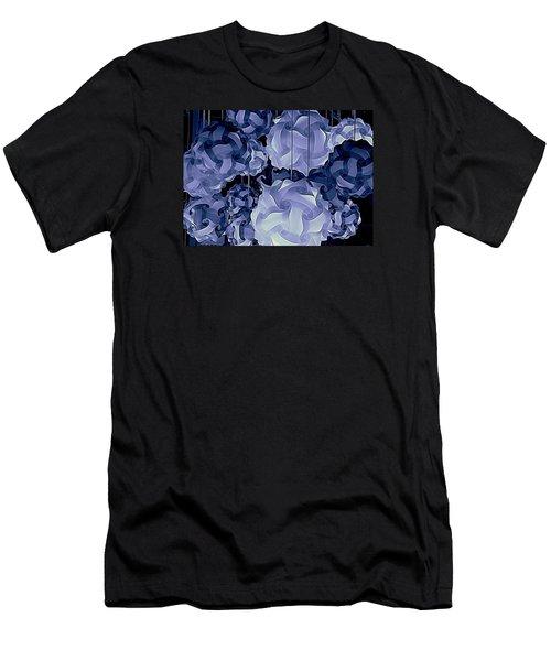 Pendants In Purple Men's T-Shirt (Slim Fit) by Ranjini Kandasamy