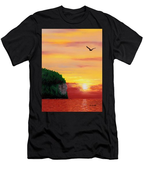 Peninsula Park Sunset Men's T-Shirt (Athletic Fit)
