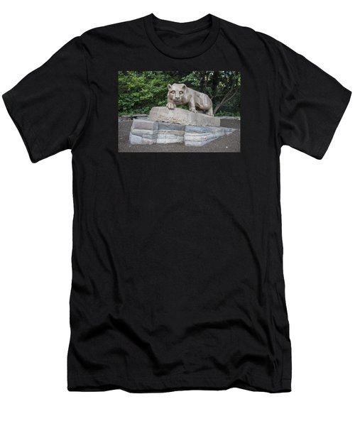 Penn Statue Statue  Men's T-Shirt (Slim Fit) by John McGraw