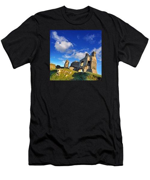 Pennard Castle Men's T-Shirt (Athletic Fit)