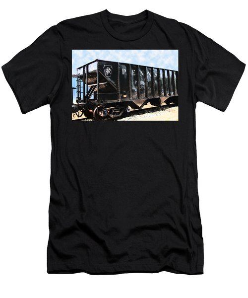 Men's T-Shirt (Slim Fit) featuring the photograph Pennsylvania Hopper by RC DeWinter