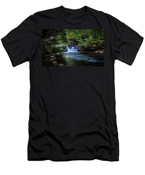 Pennsylvania Stream Men's T-Shirt (Athletic Fit)