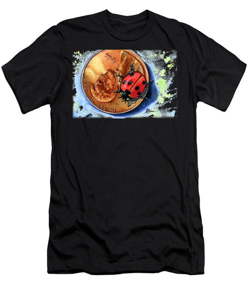 Penny And Lady Bug Men's T-Shirt (Athletic Fit)